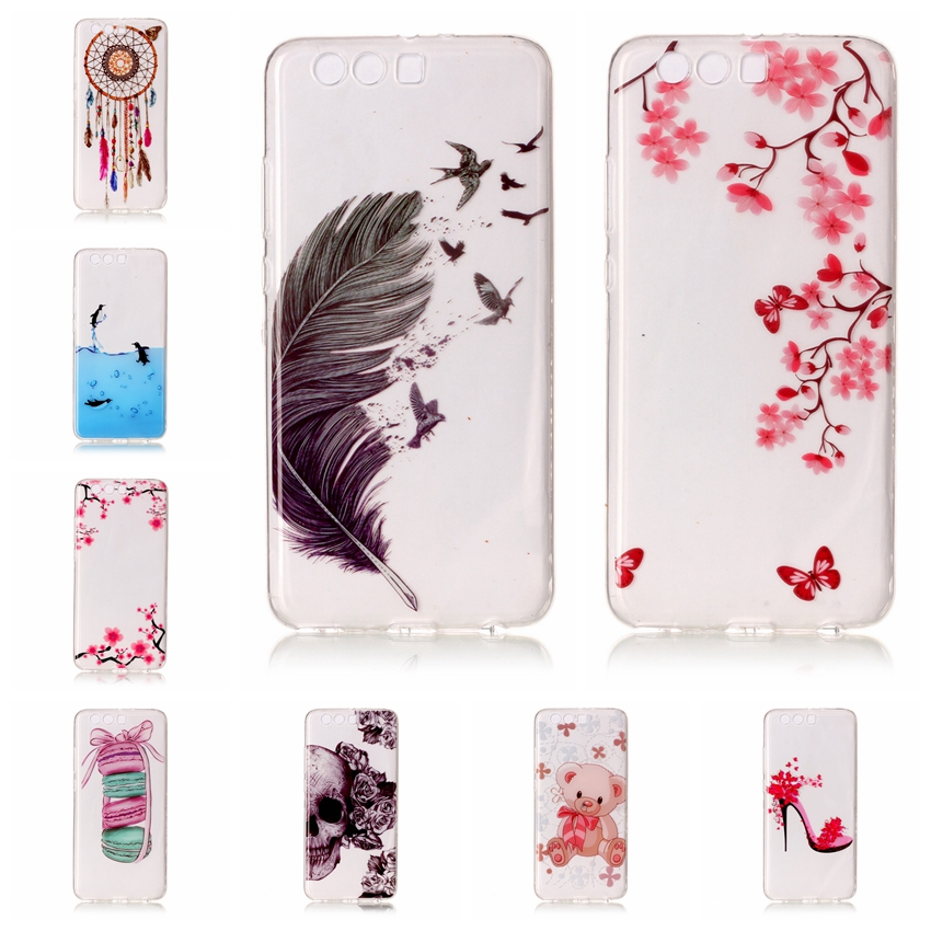 Aipuwei мягкий чехол для Huawei P10 Случаи ТПУ кремния тонкий назад кожа ультра тонкий телефон чехол для Huawei P10 плюс чехол P10 Lite