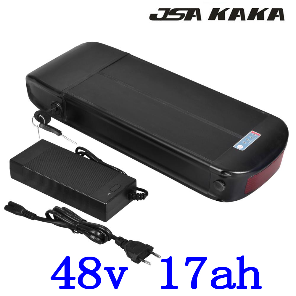 48V 18AH rear rack electric bicycle battery 48V Lithium battery  pack 48V 500W 750W ebike motor with luggage rack free shipping48V 18AH rear rack electric bicycle battery 48V Lithium battery  pack 48V 500W 750W ebike motor with luggage rack free shipping