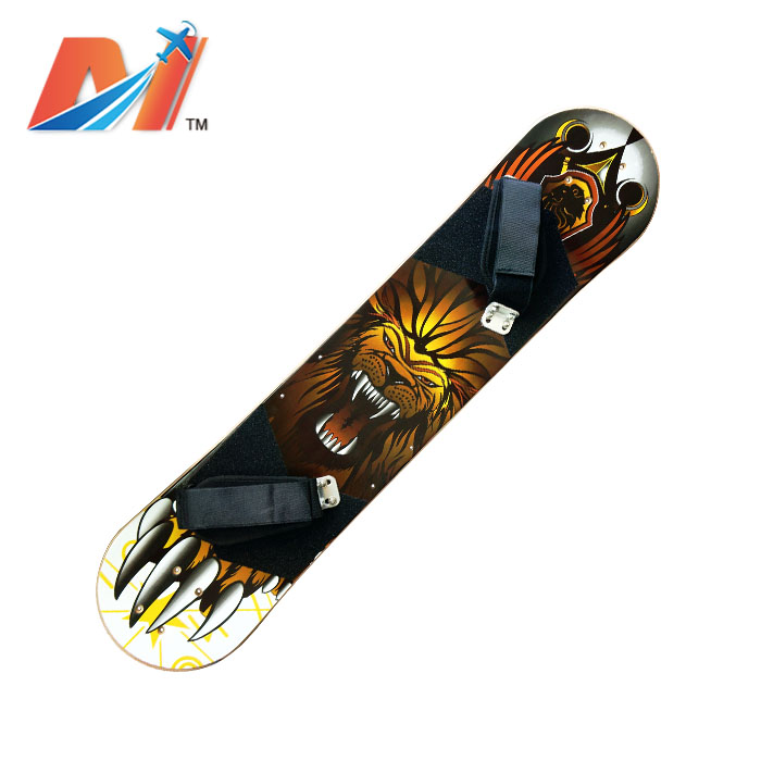 Maytech Electric Mountainboard Deck With Foot Straps