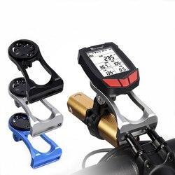 Soporte de montaje para manillar de bicicleta, velocímetro para GARMIN, Bryton, CatEye, GoPro, soporte de pie para linterna