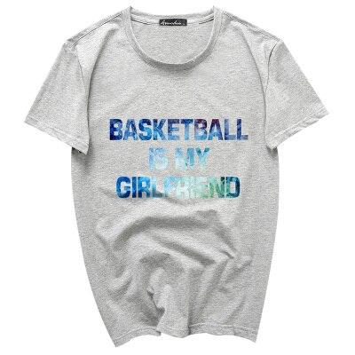 2017 new Men's Fashion Vintage florid letters Design T Shirt Boy Cool Tops Hipster Printed Summer T-shirt