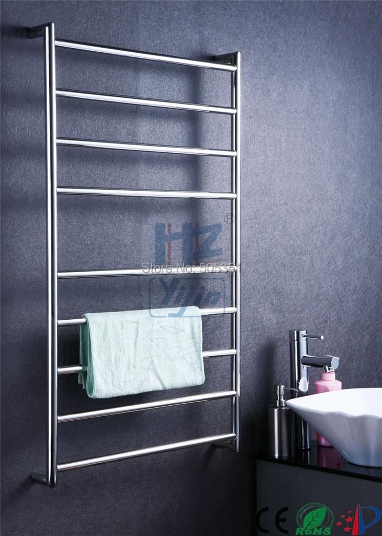 electric heated drying towel warmer rack mount radiator heating stainless steel radiators heated towel rail hz - Heated Towel Rack