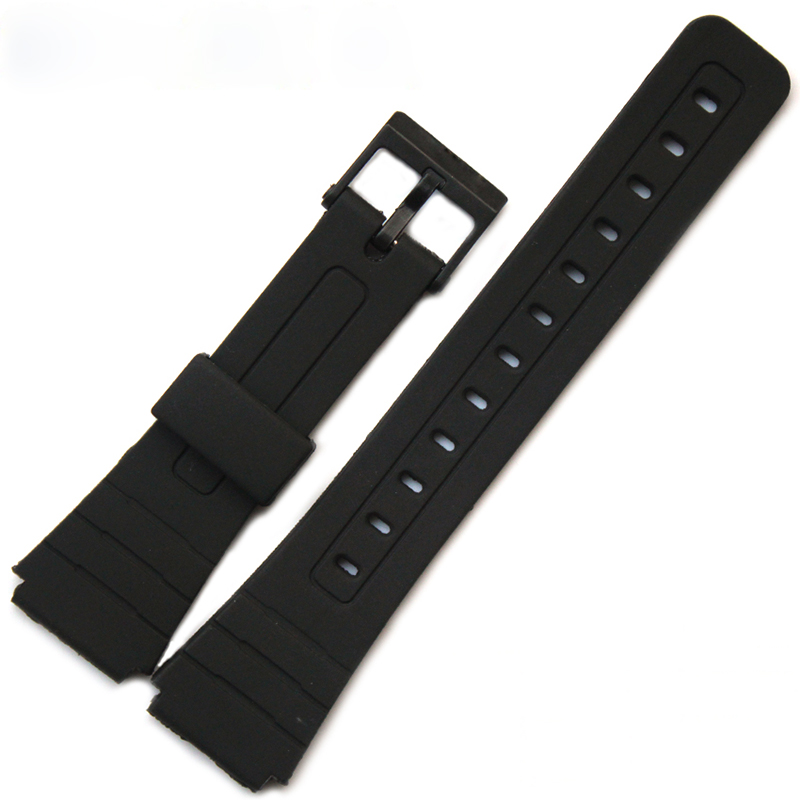 The latest silicone rubber strap for Casio AW-80 / AQ-102 / W-800H / W-752 watch accessories strap