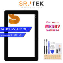 Original For ASUS MeMO Pad FHD 10 ME301 ME302 ME302C ME302KL K005 K00A Tablet PC Touch Screen Digitizer Glass 5449N FPC-1 Parts(China)