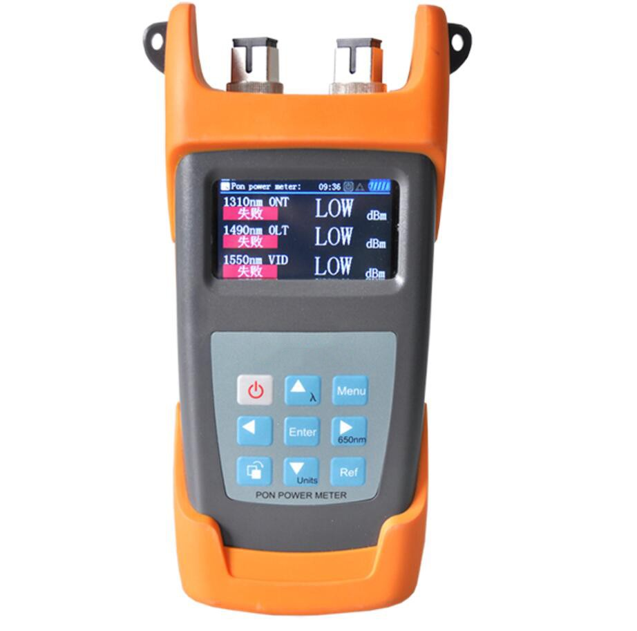 FF 3213N PON Power Meter for APON, BPON, EPON and GPON, 1310/1490/1550nm, FC SC ST Conenctors, Support Testing Result Download