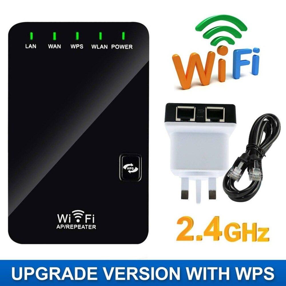 2,4g Wifi Signal Range Booster Wireless Network Extender Verstärker Internet Repeater Einfach Für Installation