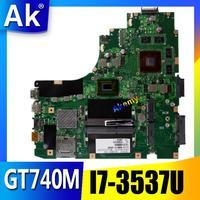 AK K46CB/K46CM Laptop motherboard for ASUS K46CB K46CM K46C K46 Test original mainboard I7 3537U GT740M|Motherboards| |  -