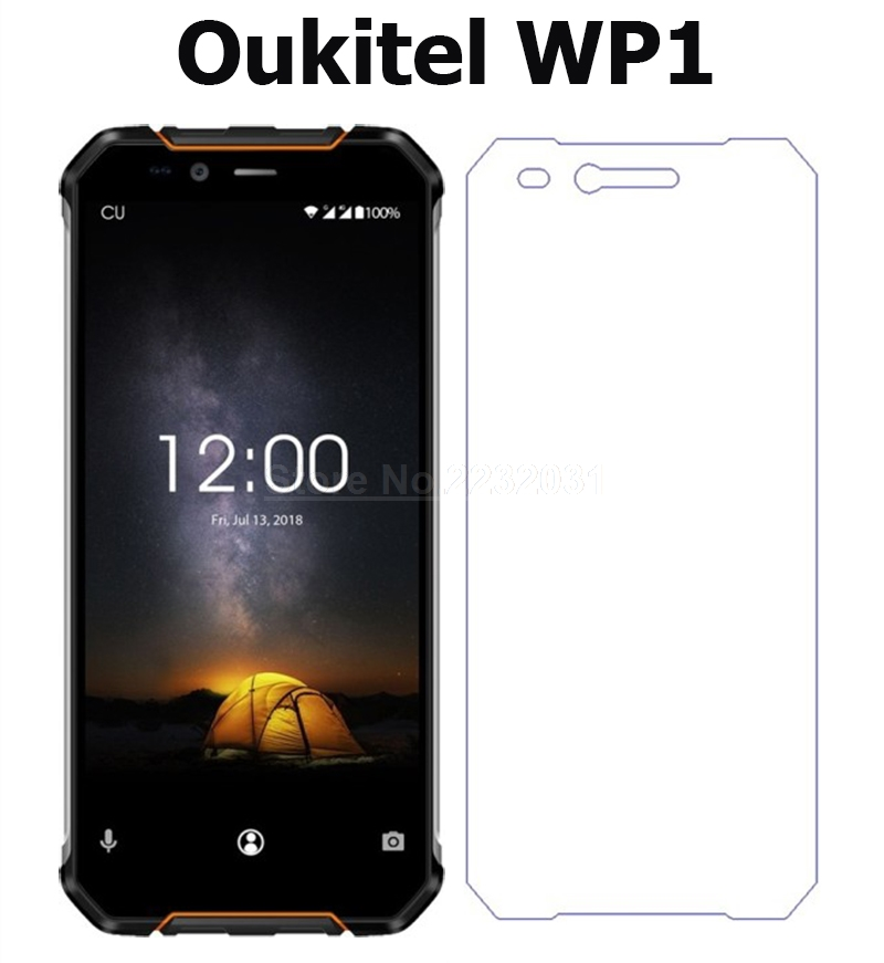 9H Premium Tempered Glass For Oukitel WP1 Phone Screen Protector Protective Film For Oukitel WP1 Glass Film