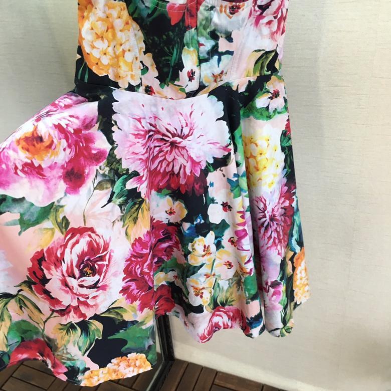 De Impresión Correa 0402 Vestido 2019 Mujeres Las Moda Sexy Multiple Nueva IItYg
