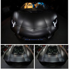 1x Matte Flat Black Vinyl Film Wrap Sticker Decal Bubble Free Air Release Latest(China)