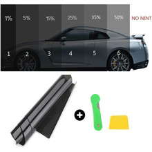 50cm*3m Window Tint film tinting roll kit  VTL black UV-proof scratch resistant for Auto цена