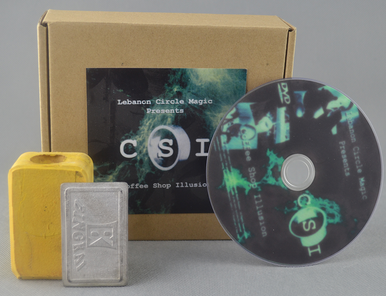 CSI-Café Illusion (DVD et Gimmick) tours de magie Amaging Stade Magique Disparaître Accessoires Mentalisme Gros Pour Magicans