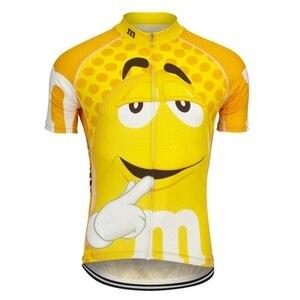 Image 4 - Männer radfahren jersey fahrrad tragen kurzarm radfahren kleidung MTB ropa Ciclismo Atmungsaktive maillot outdoor Fahrrad kleidung