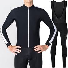 Runchita pro team cycling jersey long sleeve sets 2018 Winter fleece thermal kit Invierno maillot ciclismo lana caliente