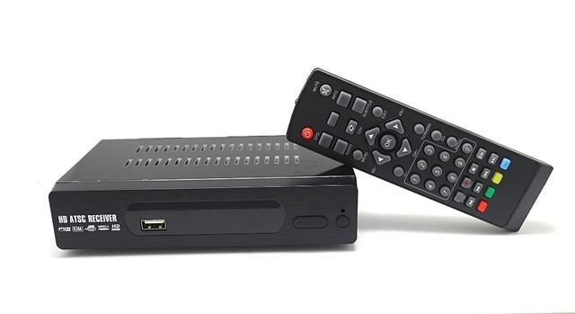 2017 Full HD ATSC Receptor de TV BOX HD 1080 p Vídeo HDMI Media Player Receptor Para Fora para OS EUA Canadá México Coréia M2-ATSC