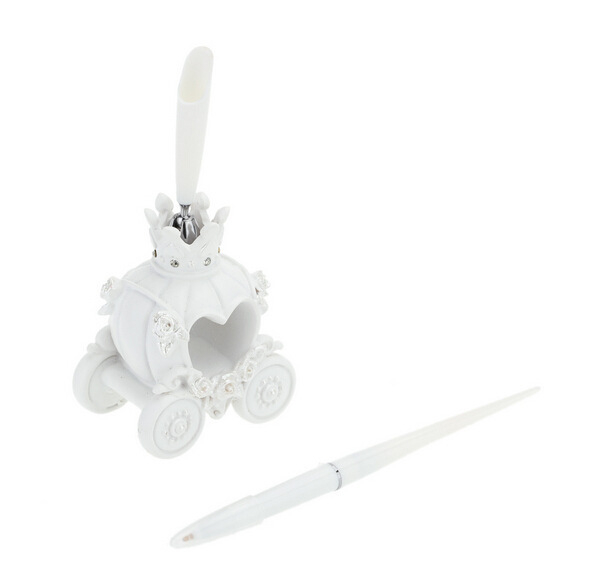 Wedding Pen & Pen Holder