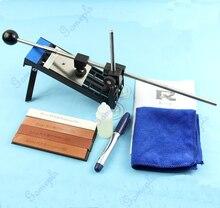 Professional Kitchen Knife Sharpener System Fix-angle Sharpening Frame 4 Stones