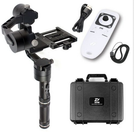 Newest Version!!!Zhiyun Crane Handheld Stabilizer gimbal With Case ZW-B02 Remote Controller for DSLR Canon Cameras Support 2 KG yi yi high capacity 3 7v 2350mah li ion battery for samsung galaxy s4 mini i9190 orange