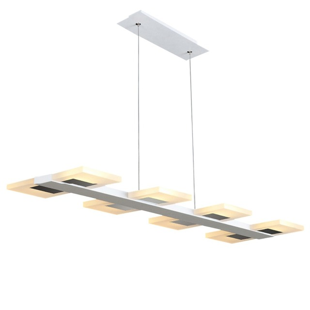 LED Shop Lighting Hanging Dining Room Light Fixture Led Linear Pendant  Lighting Adjustable Pendant Lamps For
