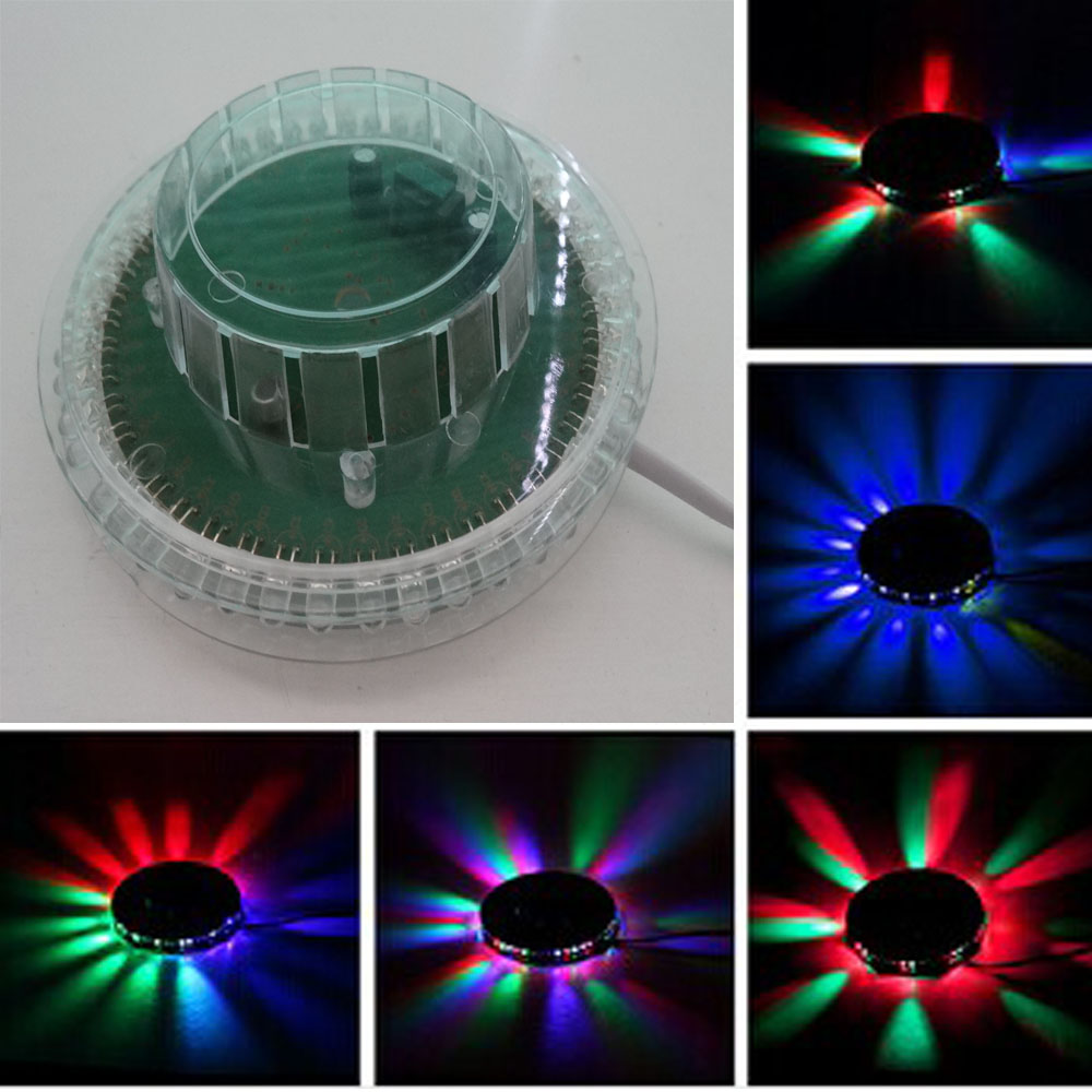 8W RGB Color Changeable  LED Bulb Stage Light With Plug 220Vac Buy Now
