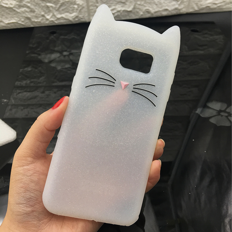 For Samsung J3 J5 2017 EU J7 pro 2017 Case Cute Cartoon Cat Cases 3D Silicone Soft Back Cover Funda For Galaxy J530 Phone Cases (3)