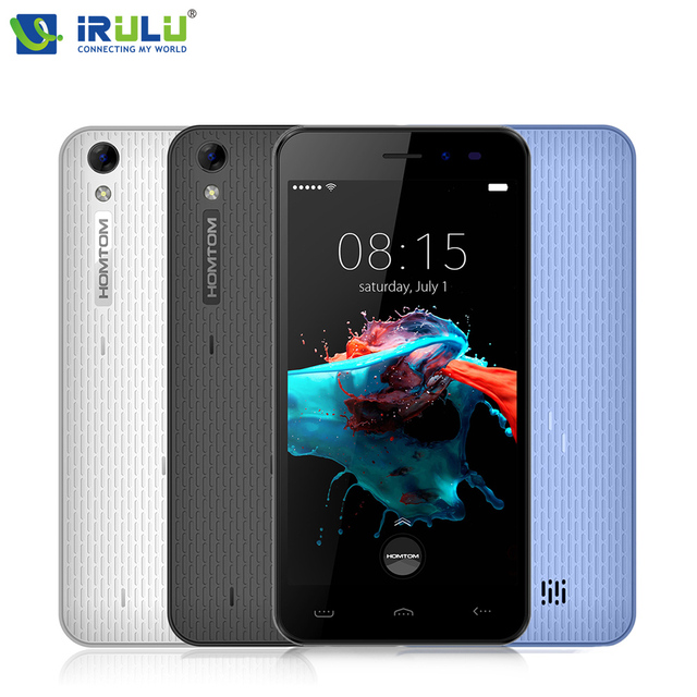 "Original HOMTOM HT16 5.0"" HD 720P Smartphone Android 6.0 Quad Core MTK6580 Cellphone 1GB+8GB ROM 5MP 8MP 3000mAh 3G Mobile Phone"