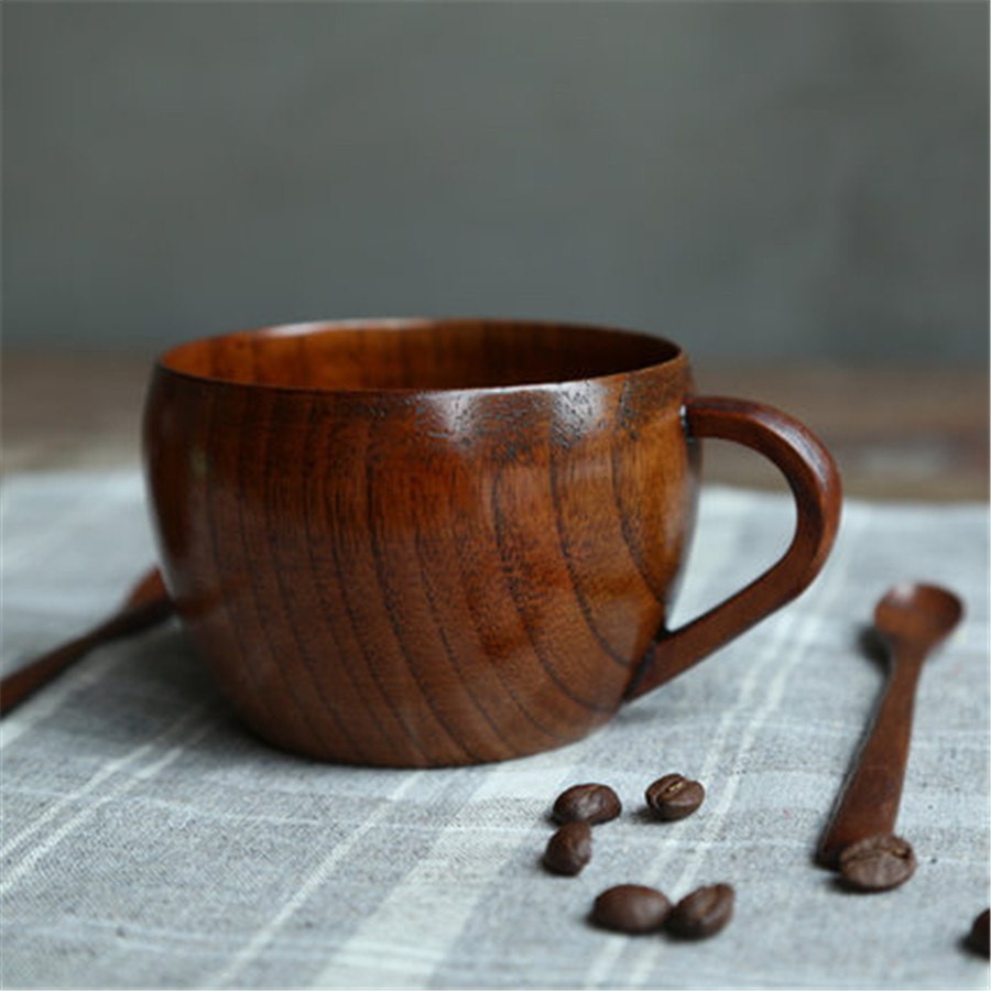 Dining Small Wood Coffee Mugs Tea Cup Kung Fu Personalized Jug Wooden Coffee Cups Coffee Table Wood Coffee Cup Shape Wood Coffee Cup Plans