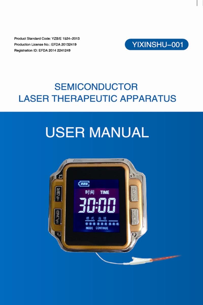 Fisioterapia a Laser Diabéticos Relógio Nova ce 650nm