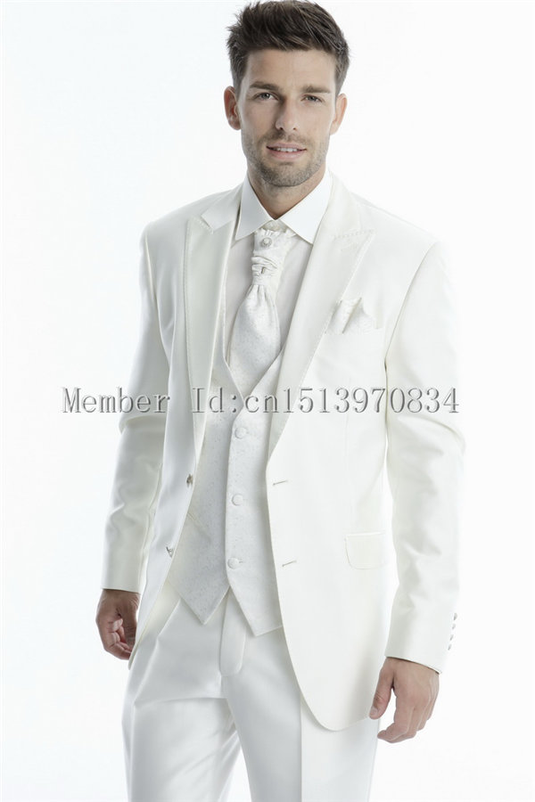All White Prom Suit - Go Suits