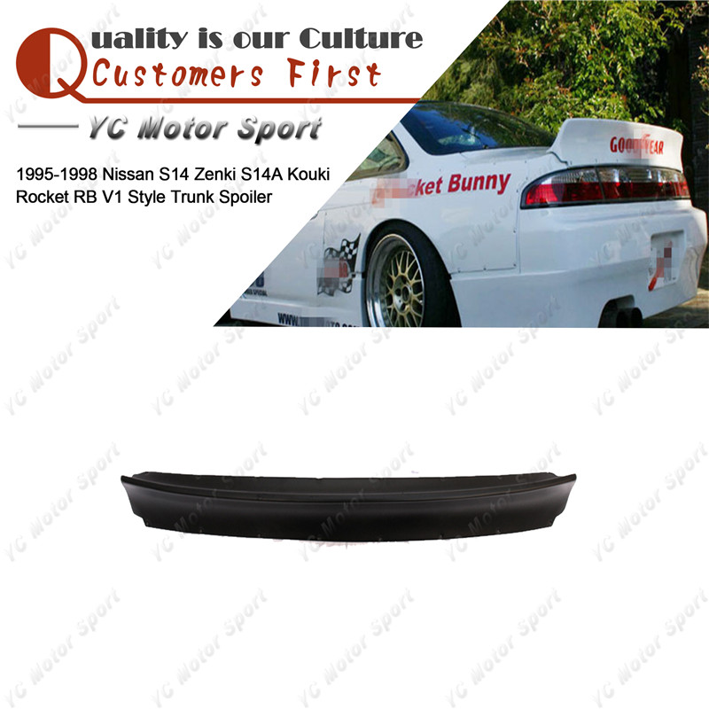 New Rear Bumper Side Skirts Fit For Silvia S14 200sx Kouki Spec 240sx 1995-1998