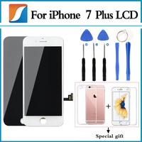 For iPhone 7 Plus LCD With 3D Touch Screen Digitizer Assembly Pantalla Replacement Display 100% AAAA + free gift