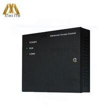 Inbio460 4 Doors Access Control Panel ZK Fingerprint Door Access Control System With Power Supply Box TCP/IP Door Control System