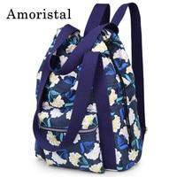 Women Drawstring Bags Fashion Simple Pocket DrawString Girl Schoolbag Nylon Backpack Shoulder Folding Waterproof Backpack B238