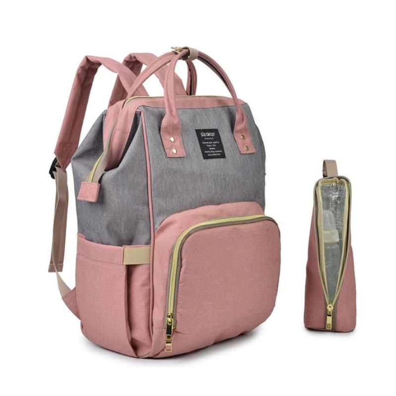 цена Diaper bag Baby Travel backpack mom mother bag for baby stuff accessories bolsa maternidade 2018 fashion