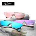 R.Bsunny Brand polarized women sunglasses Fashion classic Retro individuality High quality color film Overall lens goggles