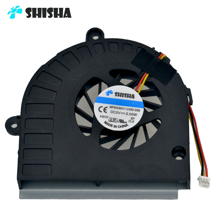 New original K53 K53B Cooling fan for ASUS K53 K53B cpu coolers K53BY A53U K43T K43B X53U laptop cooler K53 K53B A53U cpu fans computador cooling fan replacement for msi twin frozr ii r7770 hd 7770 n460 n560 gtx graphics video card fans pld08010s12hh