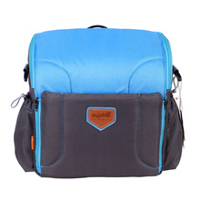 Mummy Bag Large Capacity Multifunction Mummy Shoulder bag Children Baby Dining Safety High Chair Seat Portable Messenger Bags