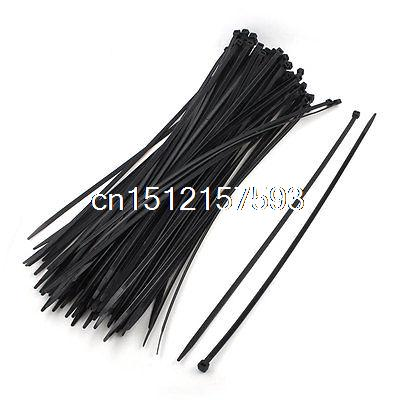 Self-Locking Black Nylon Cable Zip Wire Tie 5.2mm x 400mm 100 Pcs stainless steel cable tie gun self locking stainless steel zip cable tie plier page 4