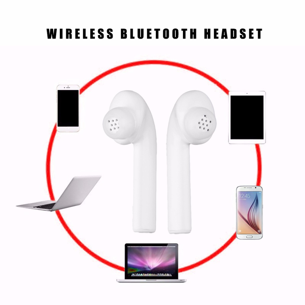 Air7E Mini Stero Wireless in ear Earphone Bluetooth Headset Ear Buds Hands-free with Mic for iphone xiaomi huawei boas wireless bluetooth earphone hands free earbud earpiece car charger usb headsets with mic 2 in 1 headset for iphone xiaomi
