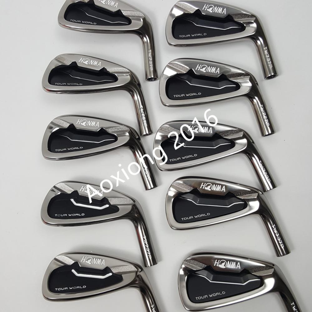 touredge golf irons HONMA Tour World TW737p iron group 3-11 S (10 PCS) Black head steel shaft free shipping игрушки животные tour the world schleich