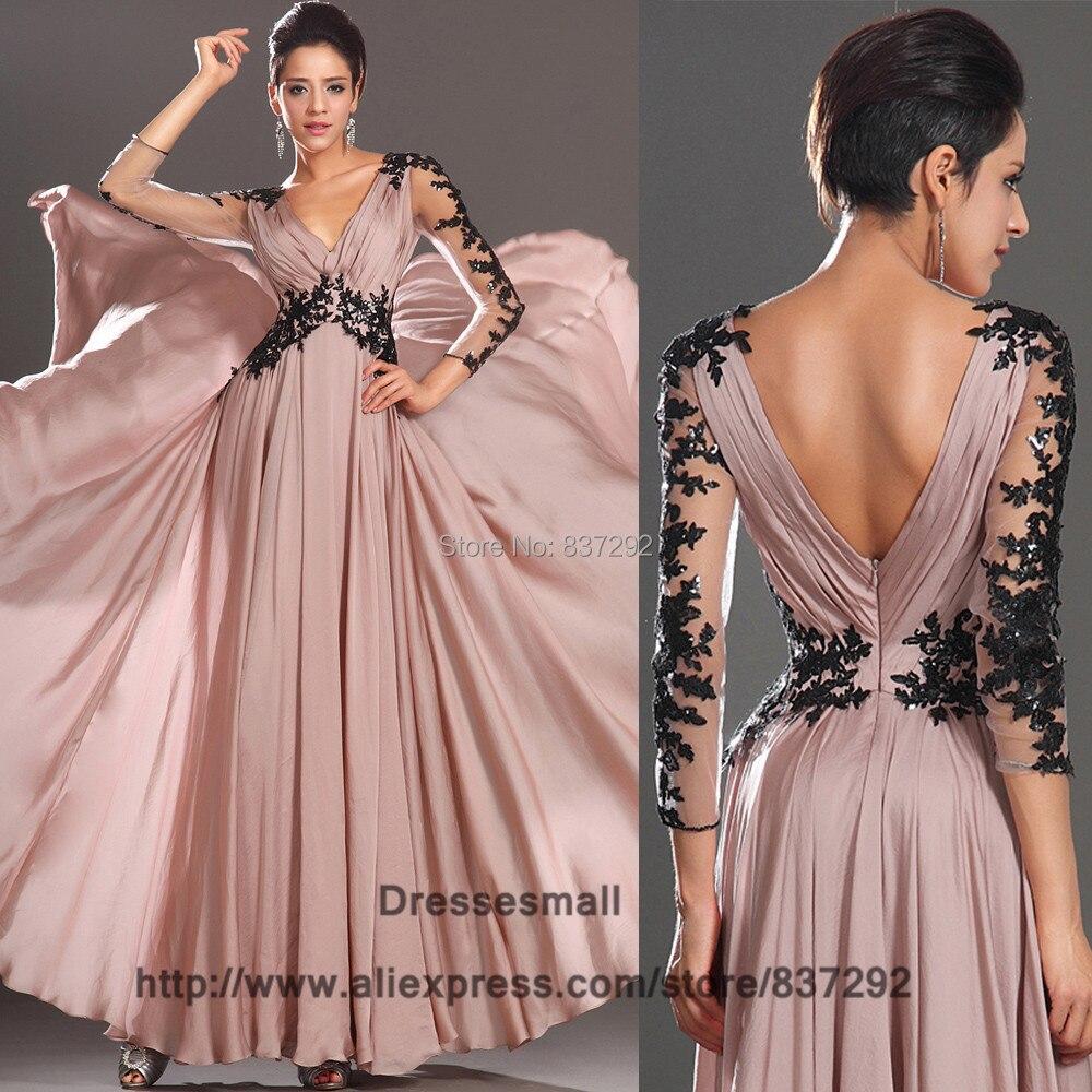 Fantástico Vestido De Fiesta Negro De Encaje Adorno - Colección de ...