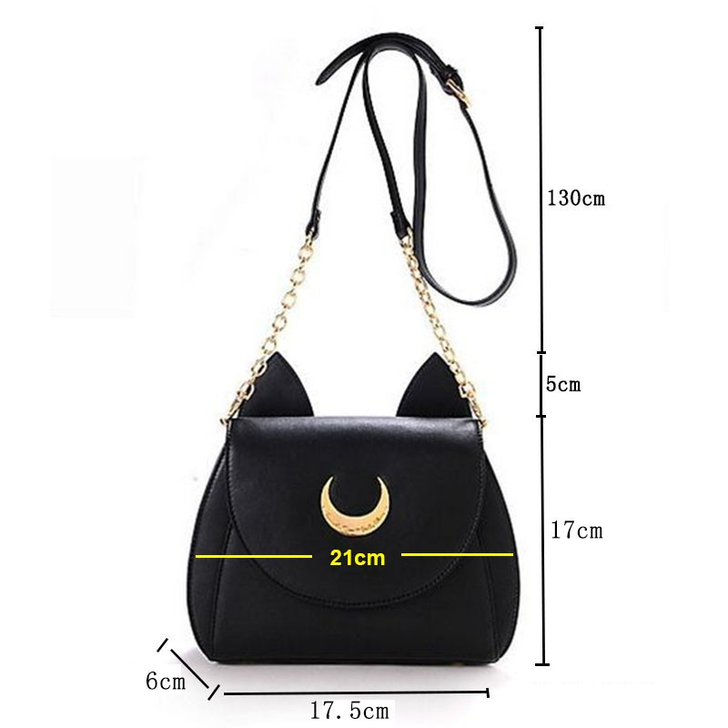 Hot-Fashion-Style-Bags-Famous-Cute-Design-Women-Messenger-Bag-Moon-LUNA-Vega-Sailor-Moon-Bag