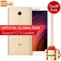 Original Xiaomi Redmi Note 4X 3GB RAM 16GB ROM Mobile Phones Snapdragon 625 Octa Core 5