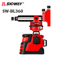 Self leveling 3D Green Rotary Cross Strong Line Laser Level 12 lines 360 Vertical and Horizontal Super Outdoor nivel Laser Beam