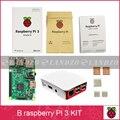 Landzo B starter kit-raspberry pi Raspberry Pi 3 Modelo B 3 placa/pi 3 case/dissipador de calor PI3 B, 3B PI, PI 3 B com WiFi & Bluetooth