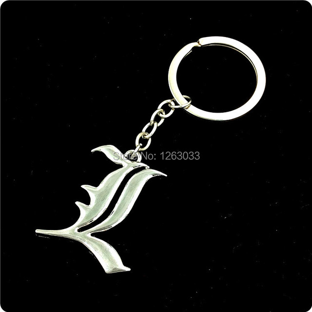 Free Shipping Cratoon Movie Cool Death Note Symbol Design Double L