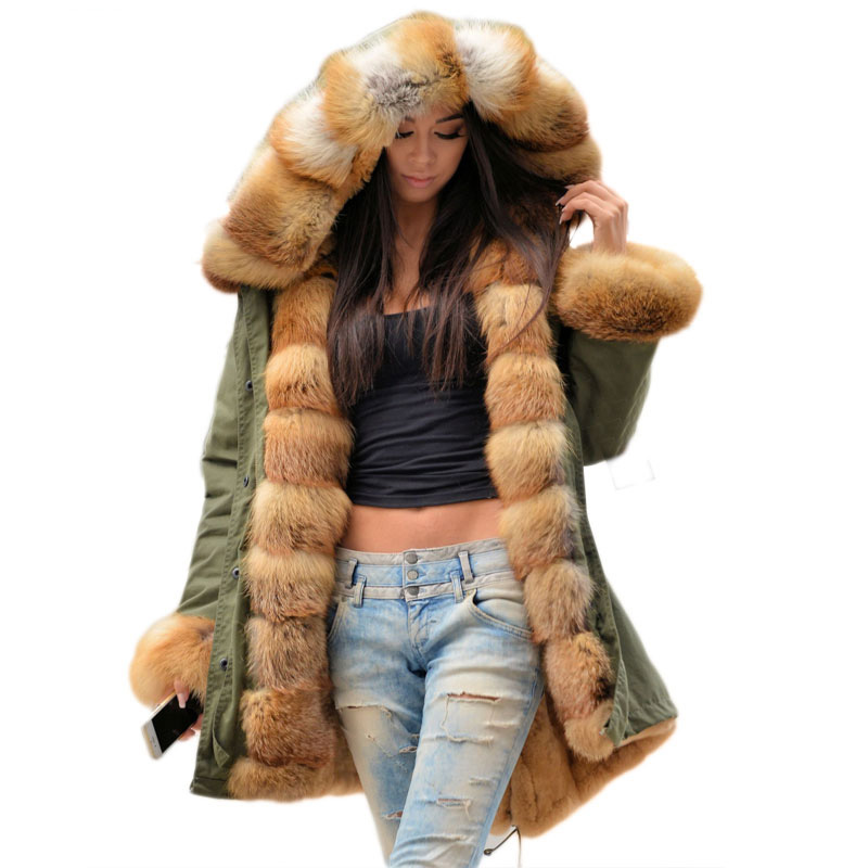 Compare Prices on Red Fox Fur Coats Women- Online Shopping/Buy Low ...