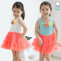 Children Flower Dress Summer Toddler Girl Dresses Princess Infantil Next Brand Wedding Floral Beach Hot Girls