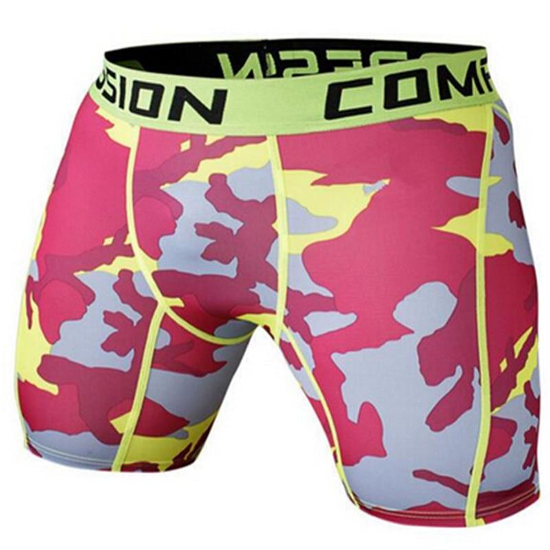 Sommer Camouflag Kompressionsstrumpfhose Shorts Fitness Herren - Herrenbekleidung - Foto 5