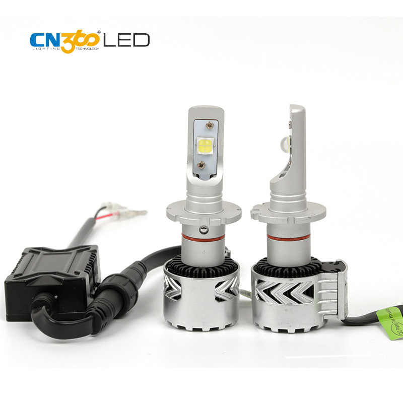 CN360 2PCS 2016 Latest LED D2 D4S Car LED Headlight Lamp  For Projector Lens 12000LM 6000K 35W Super Bright XHP70 Chip